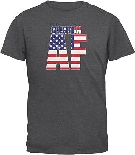 Election 2016 Hillary Clinton AF Dark Heather Adult T-Shirt