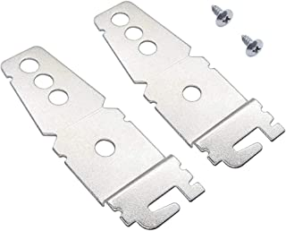 8269145 Mounting Bracket Replacement part by Exact Fit for Kenmore Whirlpool KitchenAid Dishwasher - Replaces 8269145 WP8269145VP - PACK OF 2