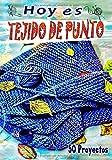 Hoy es TEJIDO DE PUNTO - 50 Proyectos: Cuaderno de seguimiento de sus proyectos de Tejido   107 páginas   Formato práctico 17,78 cm x 25,40 cm   Para un total de 50 proyectos  