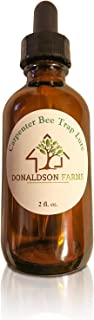 Donaldson Farms Carpenter Bee Trap Lure - Attract Carpenter Bees to Your Trap - All Natural Ingredients! The First and Original Carpenter Bee Trap Attractant!