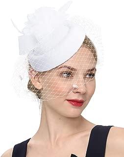 Best wedding fascinator with veil Reviews