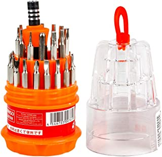 MINISO Screwdriver Set, Steel 31 in 1 with 30 Screwdriver Bits, Professional Magnetic Driver Set, for PC/Household/Furnitu...