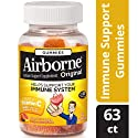 Airborne Vitamin C Gummies, Assorted Fruit, 63 Count