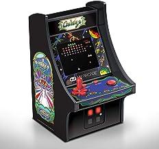 Cabine portátil retrô com Joystick Galaga Micro Player Dreamgear DGUNL-3222 Preta