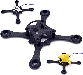 Usmile Super Lightweight 100mm Micro Brushed Carbon Fiber Quadcopter Frame for Mini Micro FPV Racing Support for 820 8.520mm Motor