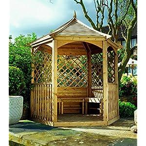 Promadino Carpa Palma Techo de Madera, Set Completo: Amazon.es: Hogar