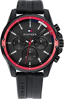 Tommy Hilfiger Men's Analogue Quartz Watch with Silicone Strap 1791793