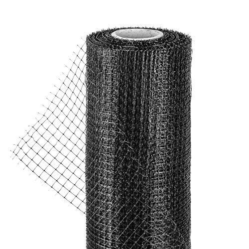 HaGa Maulwurfnetz - 1m Breite (Meterware) - Schutz Vor Maulwurfhügeln - Maulwurfsperre - Aus Kunststoff