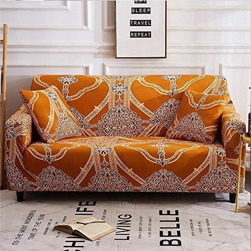 Funda Impermeable Cubierta Antideslizante Universal De Microfibra Elástica Couch Funda Establece Con Todo Incluido Couch Spandex Resistencia A La Abrasión De Cuatro Estaciones 360 °,Amarillo,18 to 18″