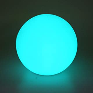 Airsee LED Ball Light, 8-inch 16 Colors Mood Lamp with Remote Control, IP65 Waterproof Floating Pool Lights, Upgraded Battery Capacity & 5V USB Charge Cable, Perfect for Home Decor