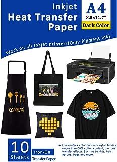 Best heat transfer paper dark Reviews