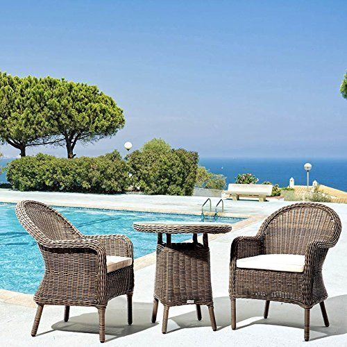 Akula Living Colonial 3 Piece Bistro Set