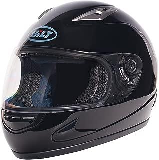 BILT 4 KIDS Strike Full-Face Motorcycle Helmet - LG, Black