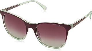 Polaroid Gradient Wayfarer Women's Sunglasses - (PLD 4059/S LPP 53JR|53|Purple Color)