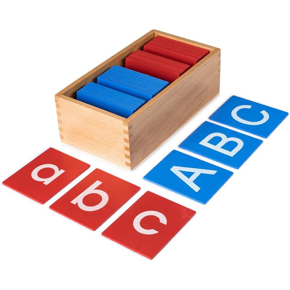 HEITIGN Letras Mayúsculas Y Minúsculas Montessori Tableros de ...