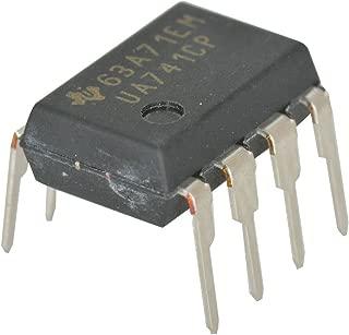 Texas Instrumen UA741CP OP Amp Single General Purpose 18V 8-Pin Plastic Dip Tube (Pack of 20)