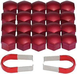 Cache-/écrous de Boulon de Roue de Voiture MachinYesell Couvertures Extracteur dextracteur de pincettes Extracteur de m/étal Noir
