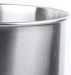 YiWon Récipient en acier inoxydable de 40 l - 64 mm - Entonnoir en acier inoxydable pour machine à remplir