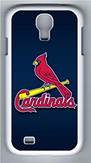 S4 Case, Galaxy S4 Case, Customize Samsung Galaxy S4 Hard Plastic White Protective Case Shock-Absorption Bumper Case for New Galaxy S4 - St Louis Cardinals