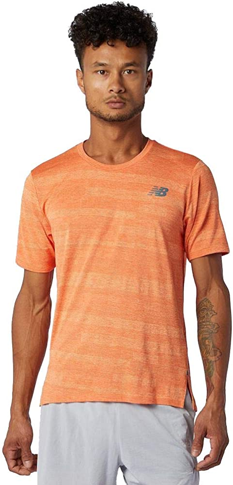 New Balance Max 62% OFF Men's Q Short Sleeve Fuel Sales for sale Speed