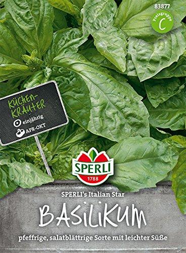Basilikum, SPERLING´s Italian Star