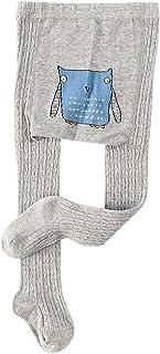 Children Girls High Elastic Tights Infant Cartoon Animal Cotton Stocking Autumn Baby Kids Knitted Stockings