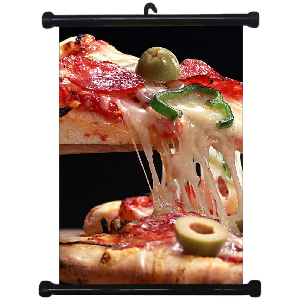 sp217117 Pizza Wall Scroll Poster For Shop Decor Display