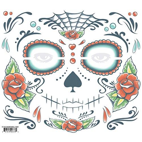 Chaks CT-412, Tatouage facial Sugar skull Day of Dead