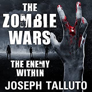 The Zombie Wars: The Enemy Within audiobook cover art