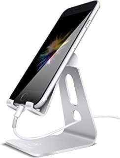 Lamicall Adjustable Stand and holder for Cell Phones - Silver