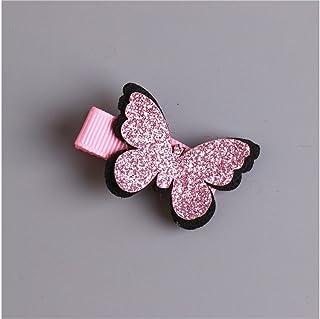 Osize 美しいスタイル 蝶ヘアピンベビーファッションクリップバンズクリップヘアアクセサリー(ロージー)