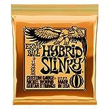 Cordes pour guitare électrique hybride Slinky Nickel Ernie Ball - calibre 9-46