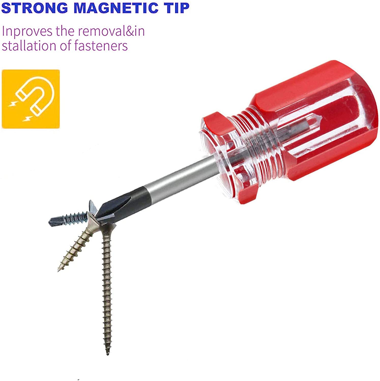 Buy Buspoll Small Stubby Screwdriver Sets 2 Piece Set 6 X 38mm Phillips Screwdriver And Flat Screwdriver Online In Indonesia B084zrynv3