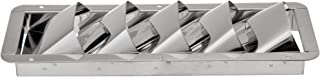 attwood 1488-5 Corrosion-Resistant Stainless Steel Marine Louvered Vent