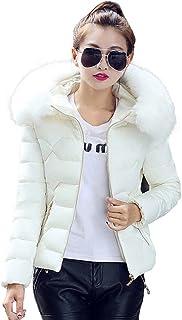 Veste doudoune blanche femme