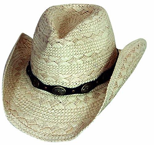 Scippis Cappello di Paglia Naturale, Paper Winton Beige L/XL