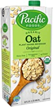 Pacific Foods Organic Oat Original Plant-Based Beverage | 32oz | 12-pack | New Pack