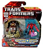 Hasbro Transformers Power Core Combiners Steelshot with Beacon