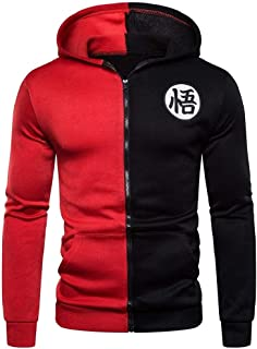 neveraway Men's Jackets Zip-up Athletic Casual Cardigan Sweatshirts with Hood