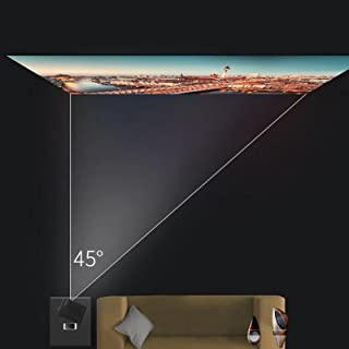Projector Zwarte slimme projector voor thuisbioscoop(Transl, European regulations)