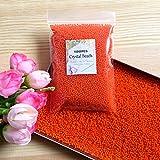 J&J - Lote de 10000 perlas de agua de gel para decoración de bodas, Navidad, jardín, cocina - Color naranja