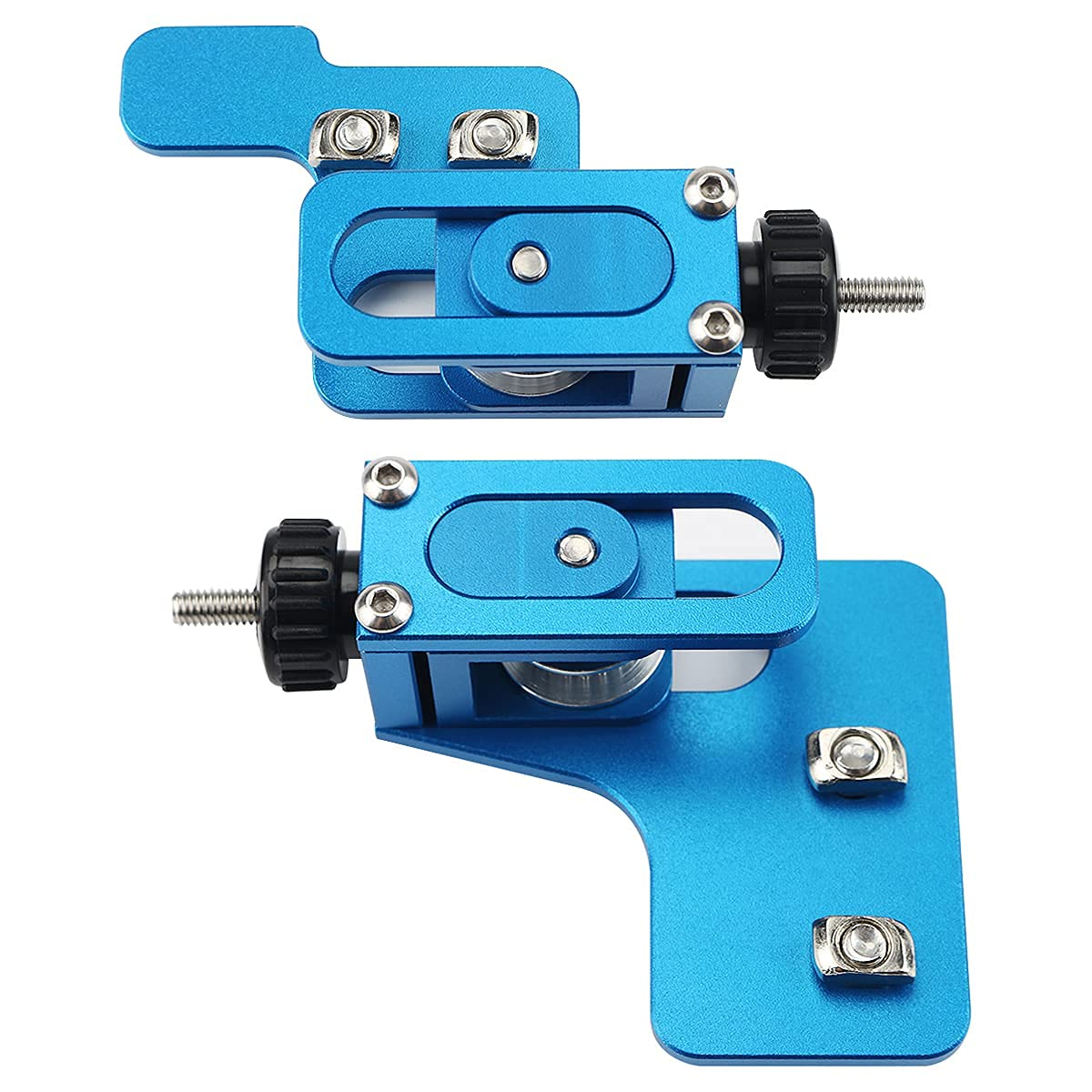 FYSETC 3D Printer Upgrade Accessories Aluminum Profile X Y Axis Synchronous Belt Stretch Straighten Tensioner Blue Compatible with Artilery Genus