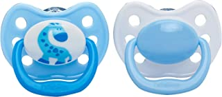 Dr Brown's Ortho Pacifiers - Stage 3 Blue Giraffe 984-Spx
