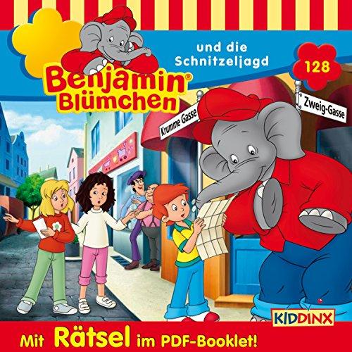 Benjamin Blümchen und die Schnitzeljagd Titelbild
