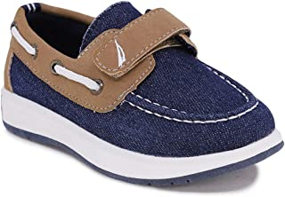 Nautica Kids Boys Loafers Casual One Strap Boat Shoes - (Toddler/Little Kid)
