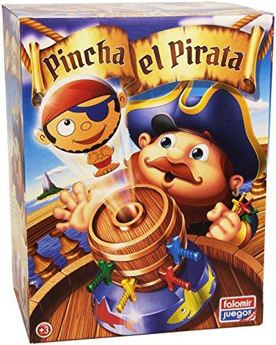 Falomir- Pincha el Pirata Juego de Mesa, Multicolor
