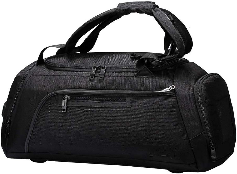 WANGXIAOLINYUNDONGBAO Reisetasche, Reisetasche, Reisetasche, tragbar, multifunktional, Fitness-Tasche, Kurzentasche, Sporttasche, schwarz,51  25  23.5cm B07PBB5QK8  Haltbarer Service b3f67c