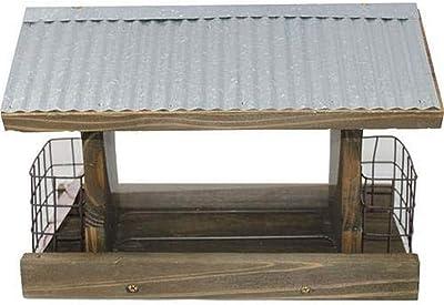 """Woodlink 991105 28709 Rustic Farmhouse Ranch Suet Bird Feeder, 9.5"""" H Wood"""