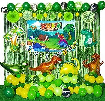 Yiisun 154-Pieces Dinosaur Party Decorations