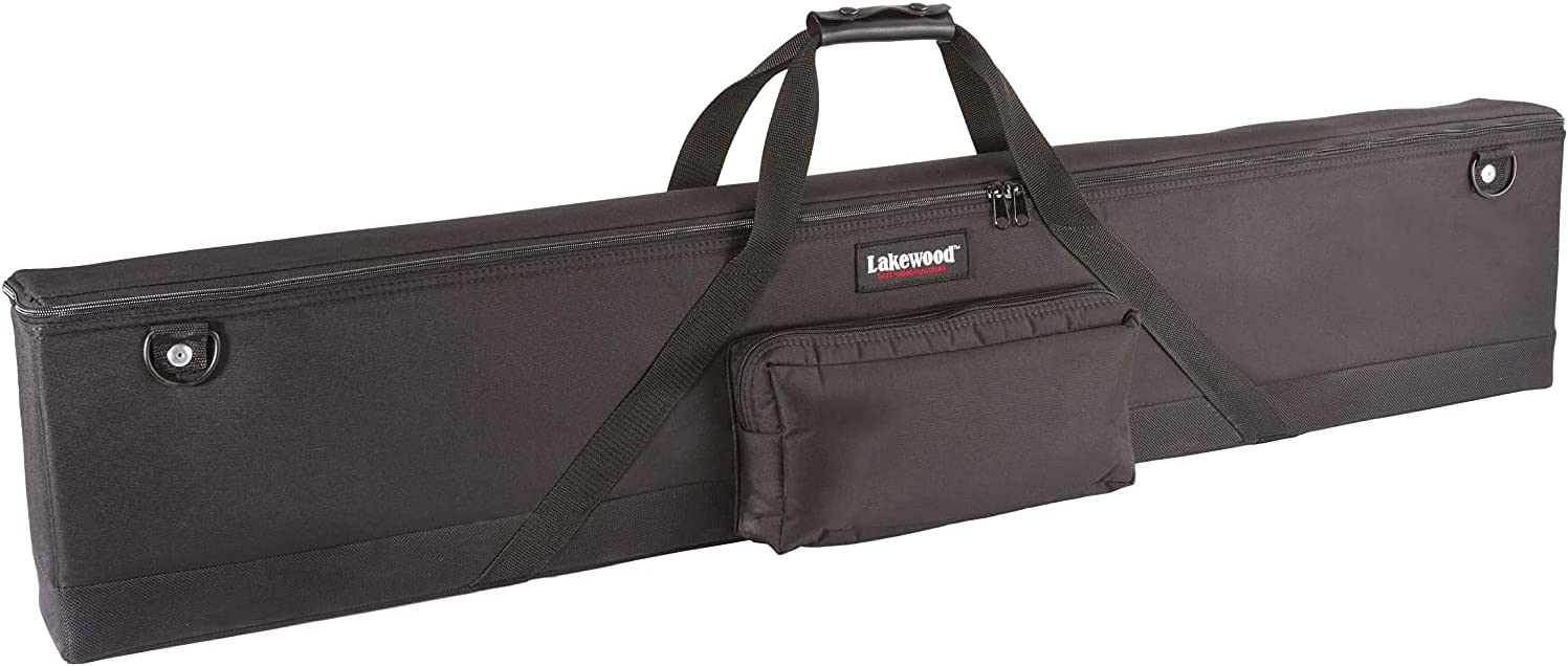 4 years warranty Lakewood Soft-Sided Hard Scoped Rifle Long - Sale item Case Black